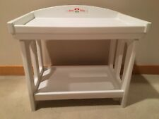 BITTY BABY DOLL WHITE CHANGING TABLE RETIRED