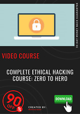 Complete Ethical Hacking Course: Zero to Hero video course training tutorial