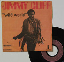 "Vinyle 45T Jimmy Cliff  ""Wild world"""