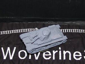 Flames Of War German 1/100 PZ 35(t) Tank 15mm FREE SHIPPING