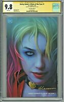Harley Quinn Villain of the Year 9.8 SS Comic Mint Edition B Shannon Maer Signed