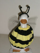 """Goose geese 11"""" Teen clothes Bumble Bee yellow black outfit #162-6"""