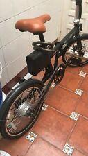 De Luxe Bicicleta Eléctrica Ligera y Plegable - Negra