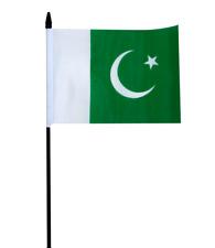 "Pakistan Small Hand Waving Flag 6"" x 4"""