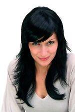 Perruque pour Femmes Noir Long Gestuftes Cheveu Postiche ca.55 Cm 9265-1B