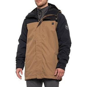 Quiksilver Men's Special Mission Otter 10K Waterproof Snowboard Jacket L NEW