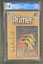 PRIMER #5 Comico 1983 CGC 7.0 Sam Kieth 1st Published Art / Max the Hare 1st App