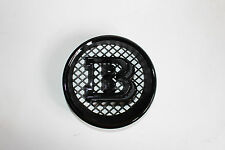 Glossy  BLACK G-Wagon W463 G500 G550 G63 BRABUS Style G65 W463 Grille Emblem