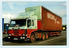 Lorry Truck Photo ~ Brown of Carlisle H353URM - Scania 113M 360 - 1998