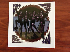 KISS - STICKER/DECAL - BRAND NEW VINTAGE - MUSIC BAND 003