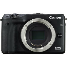 Canon EOS M3 24.2MP Mirrorless Digital Camera - Black (Body Only)