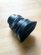 Black Leica Super Angulon 21mm f/3.4 Leica M Mount with Lens Hood and Back Cap?