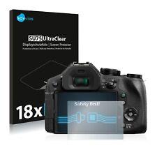 18x Displayschutzfolie für Panasonic Lumix DMC-FZ330 Klar Schutzfolie