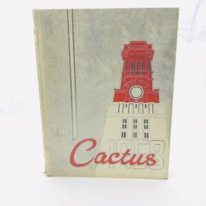 "School Yearbook - UNIVERSITY OF TEXAS 1958 ""CACTUS"" AUSTIN TEXAS  Go Longhorns!"