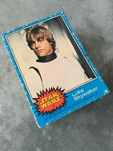 Topps' 1977 Star Wars Blue Trading Cards: Complete set 66 cards VGC
