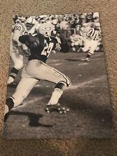 RARE WILLIE WOOD Print Photo Vintage GREEN BAY PACKERS 1961 GAME PUNT RETURN TD