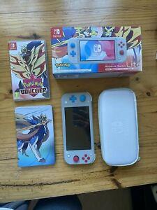 Nintendo Switch Lite Pokemon Edition Zacian & Zamazenta