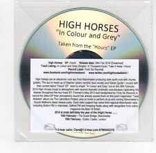 (FE645) High Horses, In Colour And Grey - 2014 DJ CD