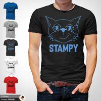 Minecraft Stampy T Shirt Mens Tshirt Black T-Shirt Mine Craft Cat Large Cotton