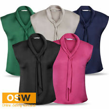 Summer/Beach Polyester Regular Size Tops & Blouses for Women