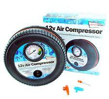 12V Portable Analogue Air Compressor / Inflator Car 4X4 Caravan Bike Trailer