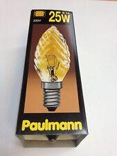 Paulmann Ampoule bougie tournée Or Lumière E14 25W 230V 452.20 Ampoule bougie