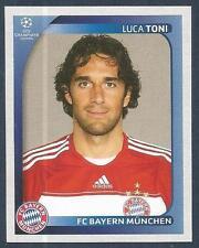 PANINI UEFA CHAMPIONS LEAGUE 2008-09- #161-BAYERN MUNCHEN & ITALY-LUCA TONI