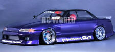1/10 RC Car Body Shell NISSAN SKYLINE  R32 4 DOOR   Drift  W/ Light Buckets