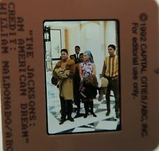 THE JACKSONS AN AMERICAN DREAM CAST MICHAEL Alex Burrall 1992 ORIGINAL SLIDE 10