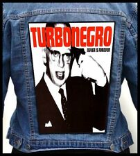 TURBONEGRO - Never Forever --- Giant Backpatch Back Patch