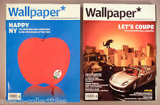 Wallpaper Magazine - Thai Edition - LOT of two #5 & 15 - January & November 2006