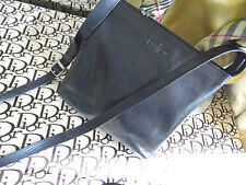 GIANNI CONTI Black quality REAL LEATHER  Cross Body SHOULDER BAG