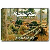 Remington Sportsman Series Trapper / Folder Knife Set Collector Tin Wild Turkey