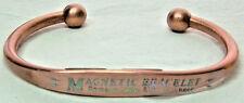 Copper & Magnets Bracelet Wheeler Arthritic Healing Healing Folklore CBM 121 NEW