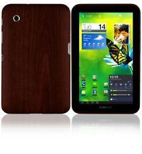 Skinomi Skin Dark Wood Cover+Clear Screen Protector for Samsung Galaxy Tab 2 7.0