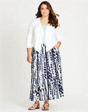 Cotton Plus Size Maxi Skirts for Women