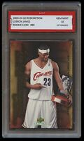 2003 LEBRON JAMES #89 UPPER DECK UD 1ST GRADED 10 ROOKIE CARD CAVALIERS/LAKERS