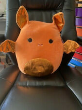"Squishmallow Tangie 12"" Bat Plush Halloween Kellytoy Nwt Walgreens Exclusive"