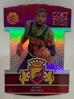 Kyrie Irving 2016-17 Panini Excalibur Basketball Die Cut Blue Coat of Arms CAVS