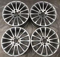 4 Mercedes-Benz Alufelgen Felgen 7,5J x 17 ET42 8,5J x 17 ET36 SLK R172 TOP