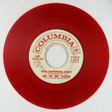 New Listing60s Soul/R&B Inst. 45 - Marlowe Morris - Bad Business Baby - Columbia - red wax!