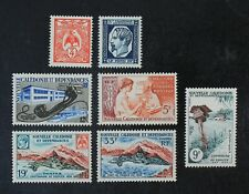 CKStamps: New Caledonia Stamps Collection Scott#311-317 Mint NH OG