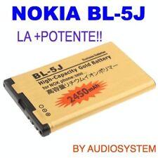 BATTERIA BL-5J DA 2430Mah PER NOKIA LUMIA X6 C3-00 5800 POTENZIATA MAGGIORATA
