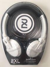 Skullcandy 2XL Shakedown Headband Headphones w/ Full Suspension White X5SHFZ-819