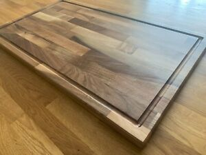 European Walnut Butcher Blocks, Chopping Boards and Table Tops. 40mm Thickness.