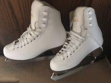 Jackson Excel Js1291 Kids sz 1.5 ice skates Ultima Mark ll Blades, pre-owned.