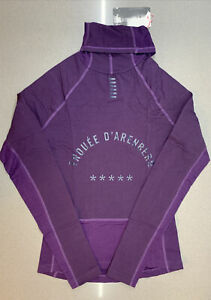 Rapha Pro Team Thermal Base Layer Long Sleeve Dark Purple Medium New With Tag