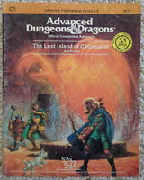C3 - The Lost Island of Castanamir - Advanced Dungeons & Dragons - AD&D TSR