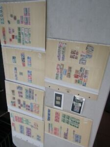 Nystamps British Colonies many mint old stamp collection with better