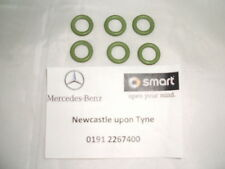 Genuine Mercedes-Benz OM611 OM612 Fuel Pipe Green Seals O-Ring X6 A6019970645